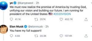 Elon Musk stated that he supports the rapper (Photo: Screenshot)