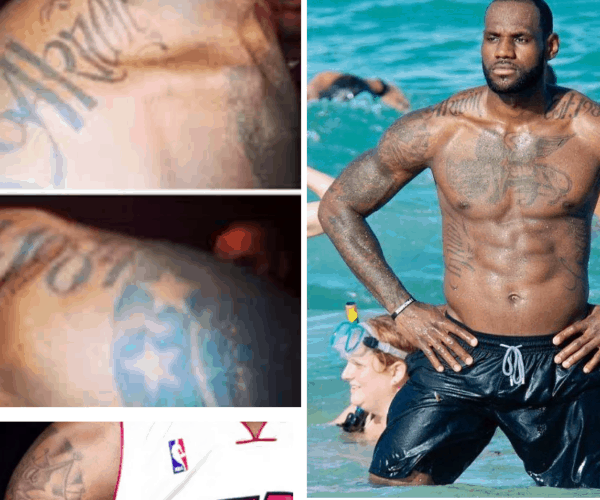 LEBRON JAMES TATTOOS AND THEIR MEANINGS