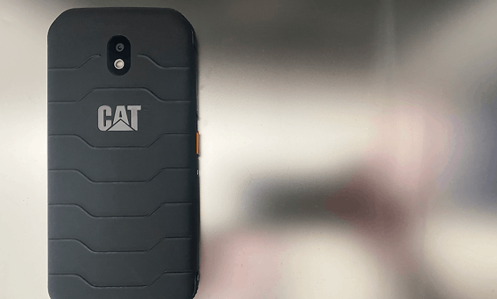Endurance and thorough washing ability on Cat's new smartphone