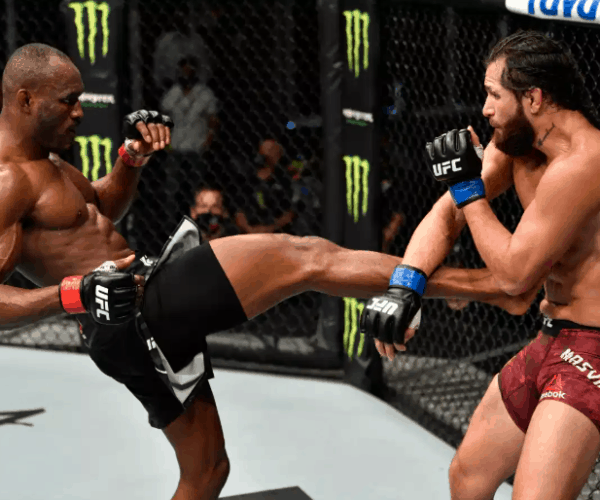 Who won the Masvidal-Usman fight at UFC 251?