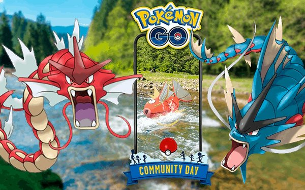 Pokemon GO Magikarp Community Day: a guide to register shiny Gyarados