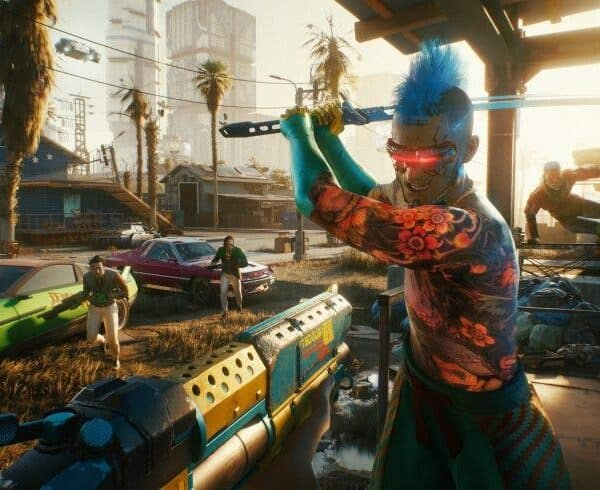 Cyberpunk 2077′ shows us its impressive arsenal of weapons