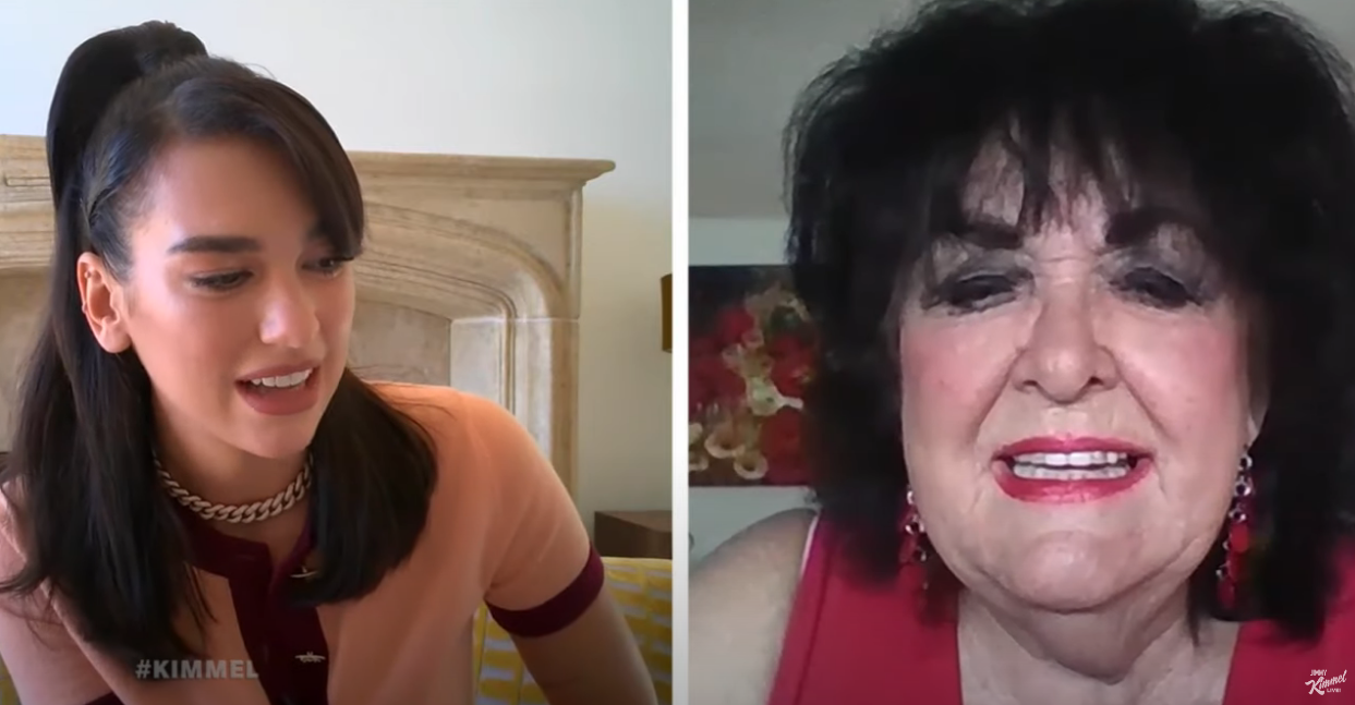 Watch video: Dua Lipa interviews older People, no one knows who she is