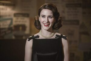 """""""The Marvelous Mrs. Maisel"""", nominated for Best Comic Series. Photo: Prime Video."""