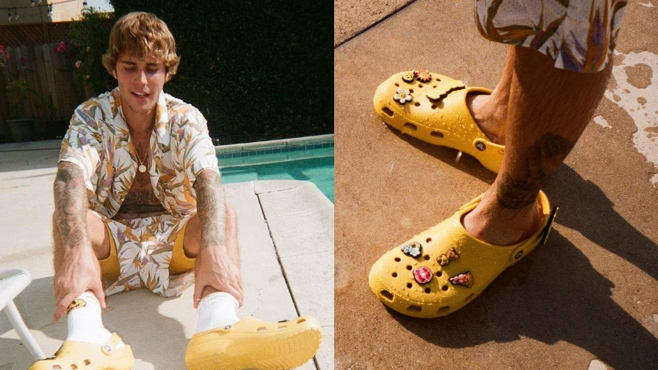 Justin Bieber and Crocs launch collaboration with limited edition sandals