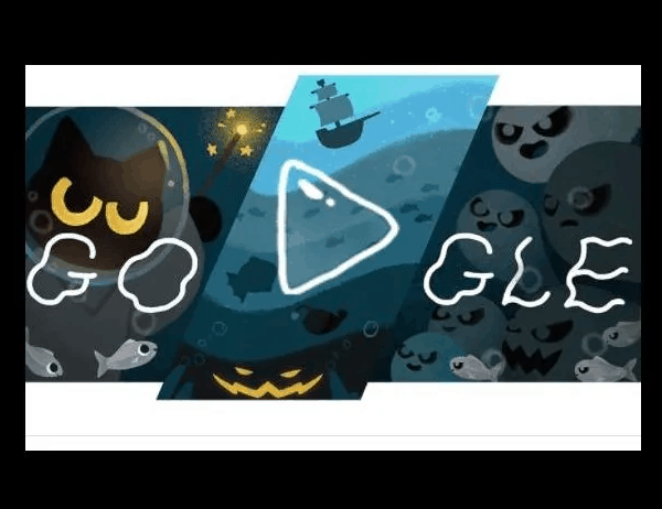 "Halloween: Google launches an interactive horror ""Doodle"""
