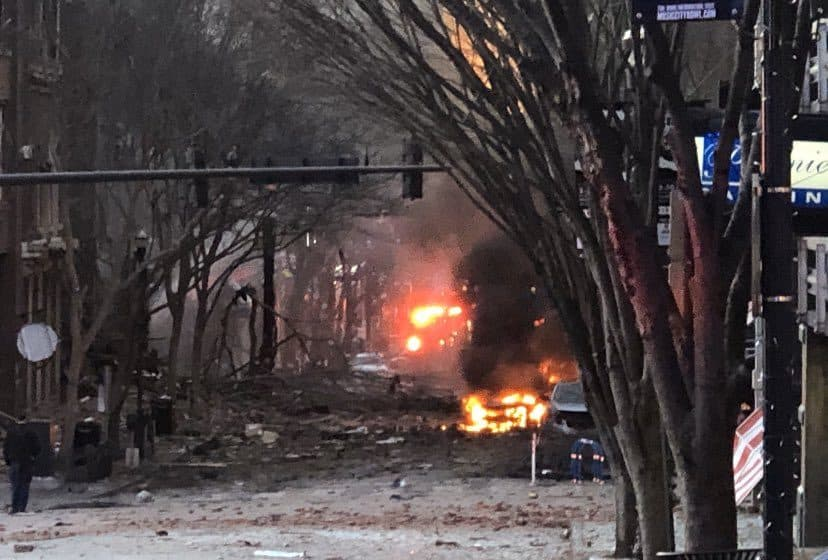 URGENT Alleged Car Bomb Explodes In Nashville [Photos and Videos]