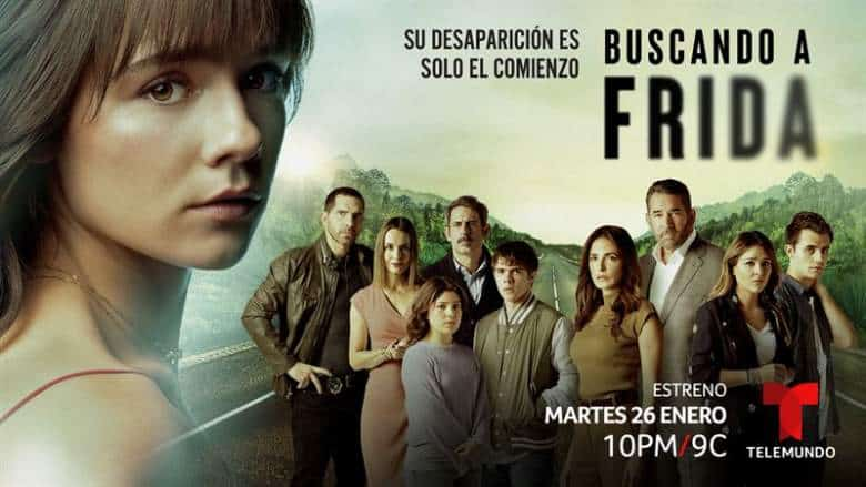 """Buscando a Frida"" Premiere On Telemundo."