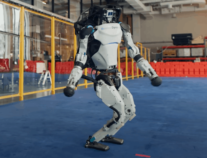 [VIDEO] Boston Dynamics Robots Dance Do You love me?