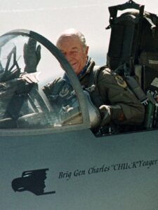 Chuck Yeager died