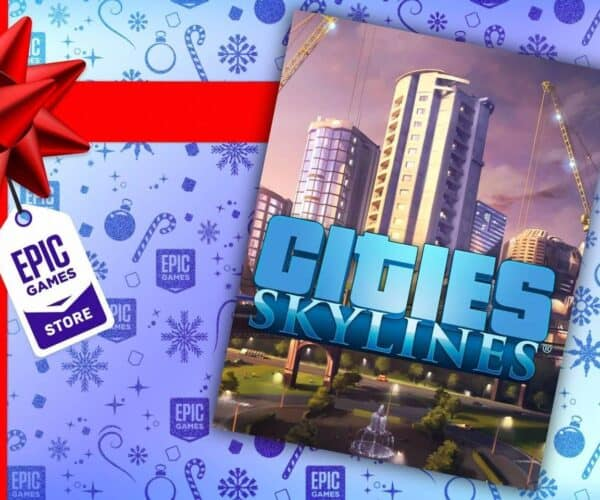Cities: Skylines Available for free on the Epic Games Store today only