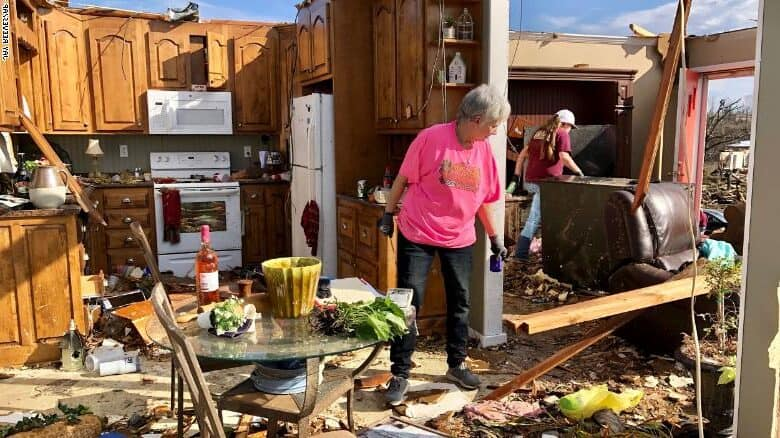 At Least One Dead And Dozens Injured By Tornado In Alabama