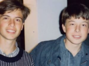 Elon Musk at the age of 12