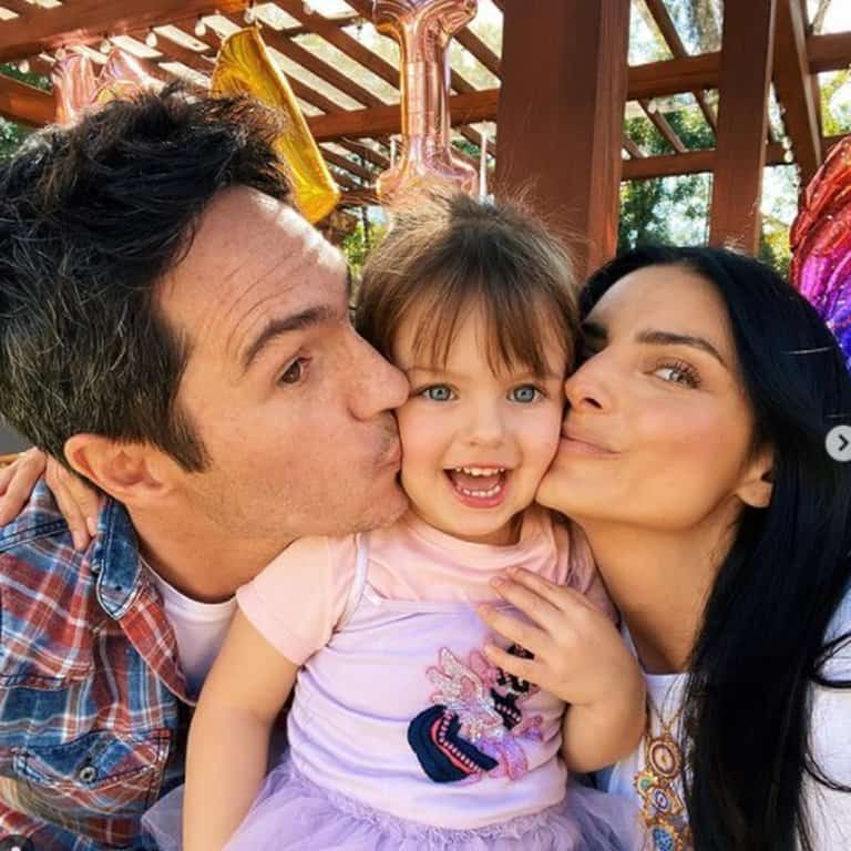Aislinn Derbez And Mauricio Ochmann Celebrated Kailani's Birthday Together One Year After Their Separation