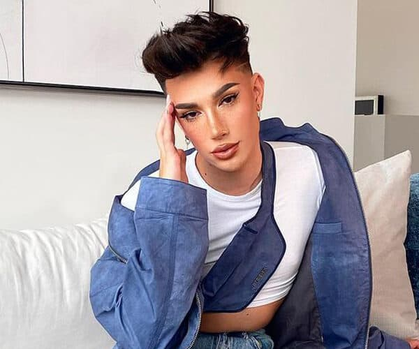 James Charles Shaved Head Photo Come And See!