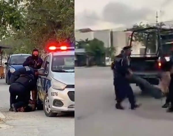 VIDEO: Like Floyd, A Woman Dies After Being Subdued By The Police In Tulum