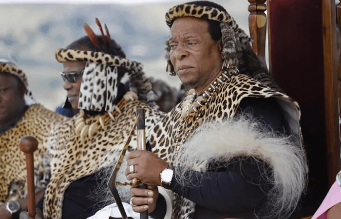 South Africa's King Of Zulus Dies At 72