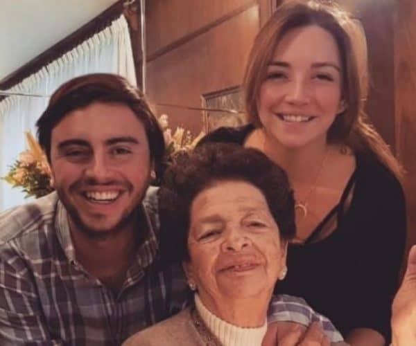Regina Blandón's Grandmother Dies