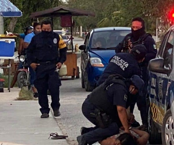 Woman Dies While Being Subdued By Police In Tulum