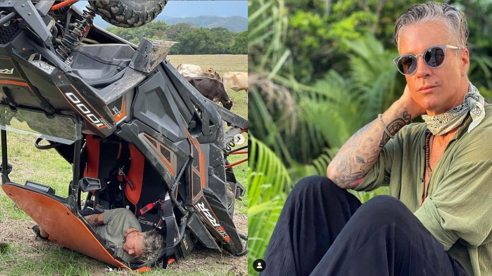 Images Of The Spectacular Accident Suffered By Fernando Carrillo In A 4×4 Truck