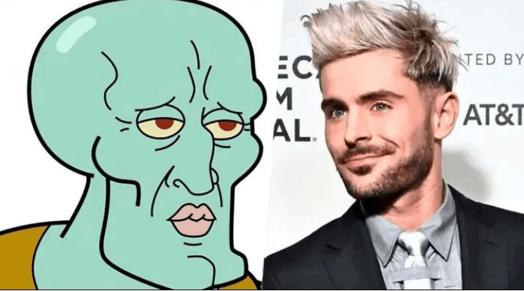 Zac Efron And His New Face Unleashed Jokes And Memes