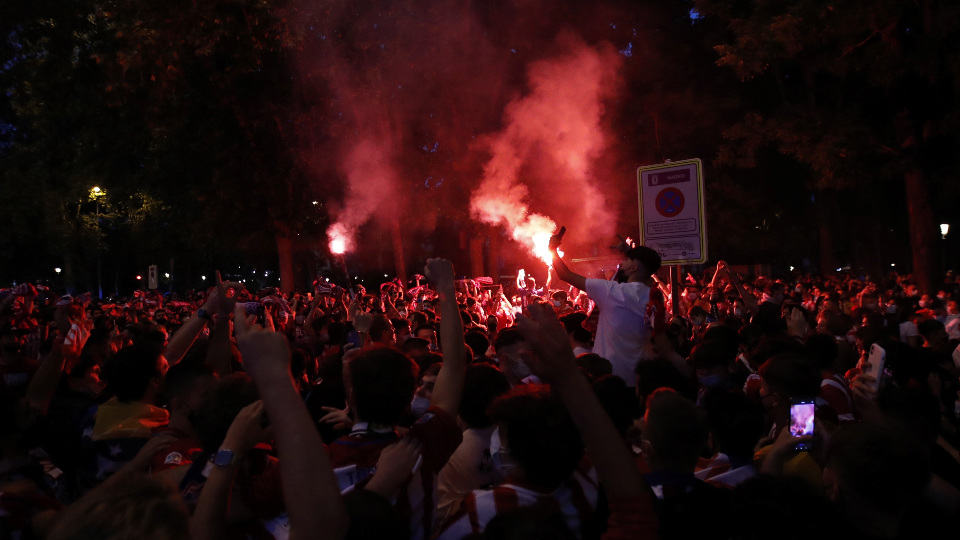 A Child Dies During The Celebration For The Atlético League Title
