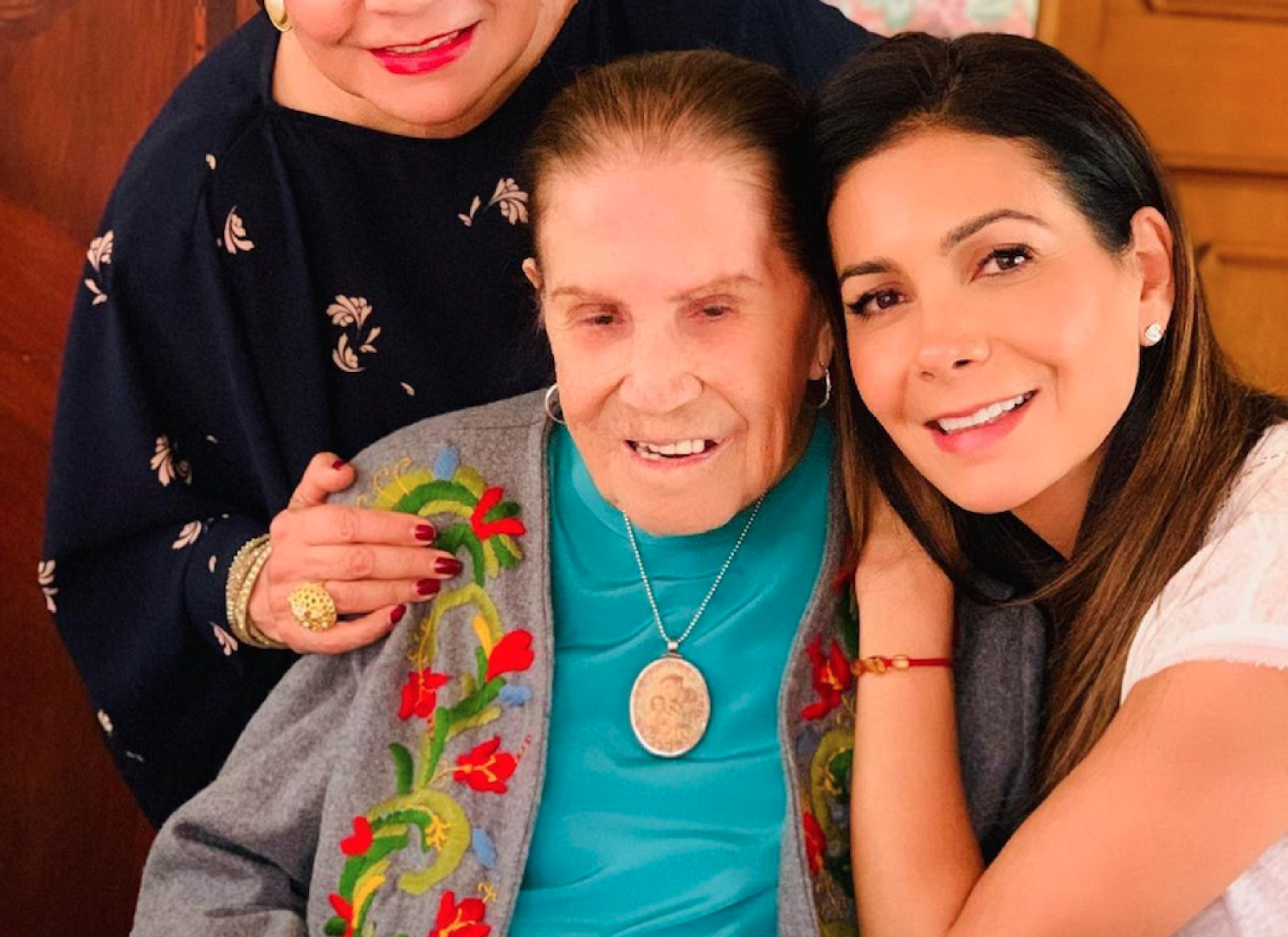 Paty Manterola In Mourning: Her Grandmother Dies At 101