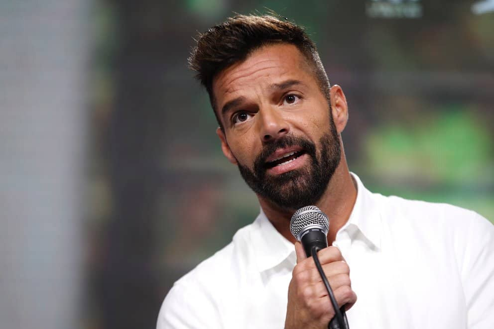 """Ricky Martin Calls """"State Of Terror"""" To The Murder Of Women In Puerto Rico."""