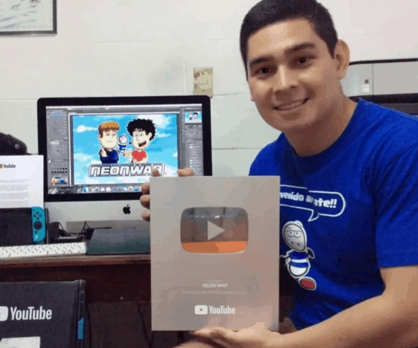 Salvadoreño Youtuber, Creator Of Neon War, Cancer Victim Dies