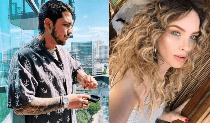 Belinda and Christian Nodal Introduced The New Member Of Their Family