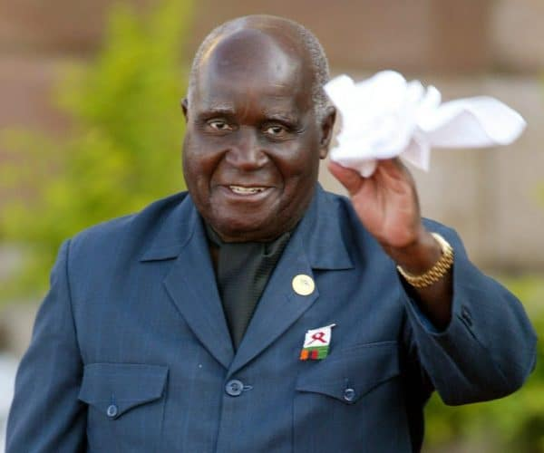 Kenneth Kaunda Net Worth At The Time Of His Death